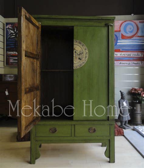 armario chino armario chino de boda verde mekabe home