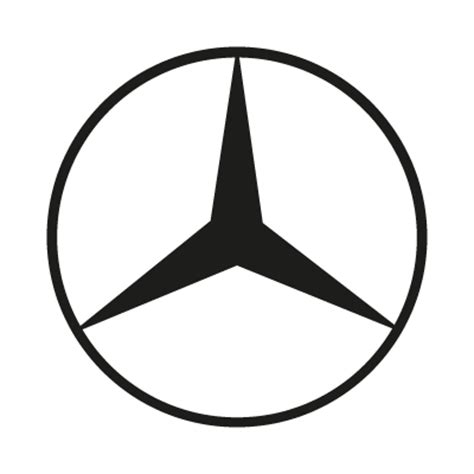 Mercedes Benz Logos In Vector Format Eps Ai Cdr Svg