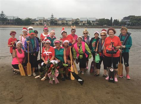 dragon boat newcastle nsw hunter breast cancer survivors take to dragon boats