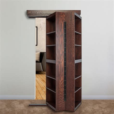 door bookcase opening contemporary entry new
