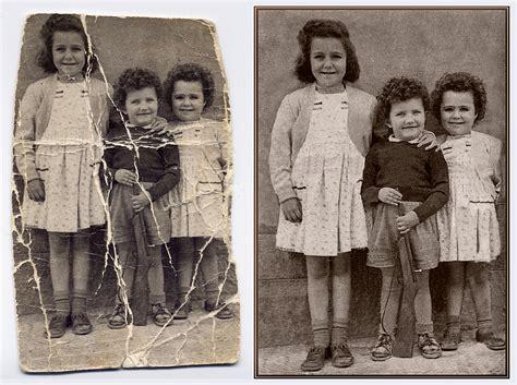 imagenes antiguas maltratadas taller de restauraci 243 n digital de fotograf 237 as