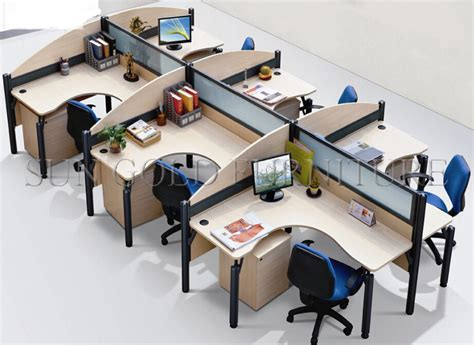 computer desk office works office workstation layout staff office work desk computer