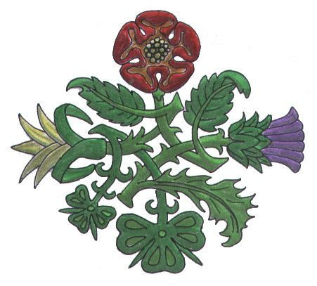 rose and shamrock tattoo 1000 ideas about scotland on scottish