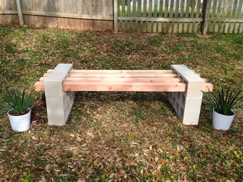 concrete block bench fab everyday because everyday life should be fabulous