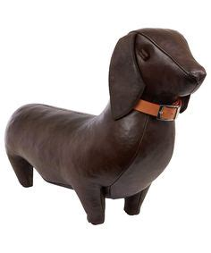 dachshund home decor home decor animal dachshund brown 1000 images about pouf ottoman stool on pinterest