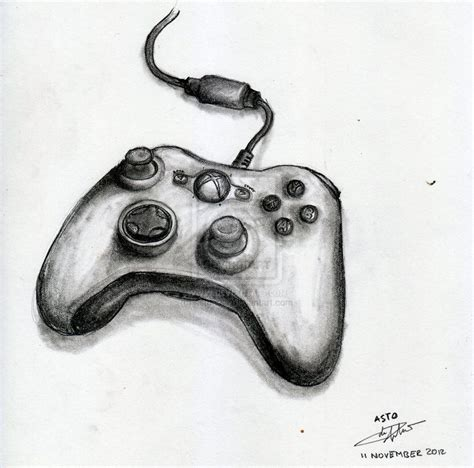 Drawing Xbox by Xbox Controller Drawing Search Doodles