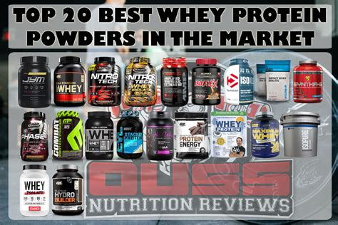 best whey protein fitness beginner the 20 best whey protein powders in the