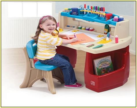 step2 deluxe art master desk step2 deluxe art master desk with chair home design ideas