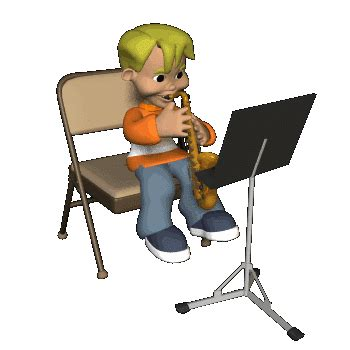 Livingroom Pc animated gifs wind instruments