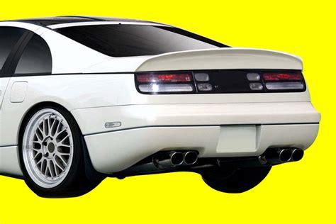 nissan 300zx spoiler fit 1990 1996 300zx duraflex competition rear wing spoiler