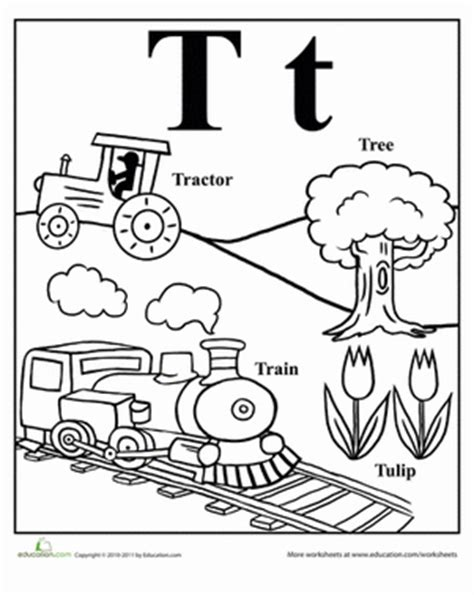letter t worksheets words that start with t worksheet education 1440