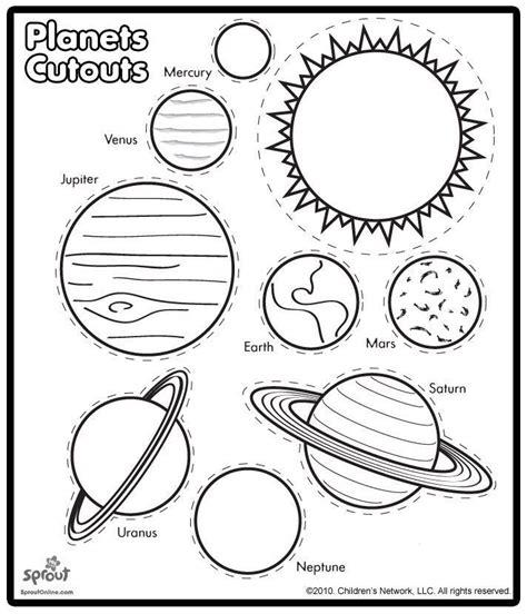printable worksheets solar system kindergarten printable solar system coloring sheets for kids solar