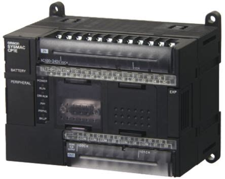 Module Plc Trainer Omron Cp1e cp1e n30dr a omron cp1e plc cpu usb networking computer interface 32 kb program capacity 18