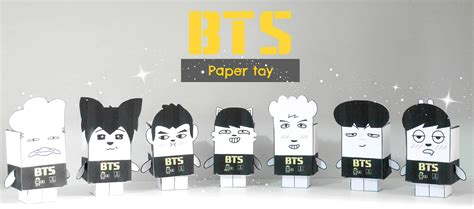 Room Decore by Diy K Pop Bts Paper Toy Youtube
