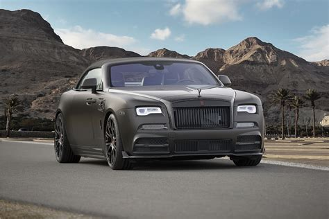 roll royce dawn geneva 2017 mansory unveiled refined rolls royce dawn