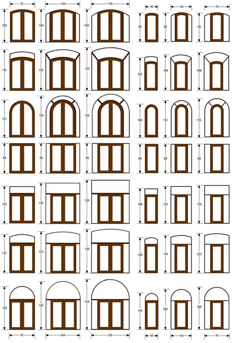 Common Exterior Door Sizes Common Exterior Door Sizes Door Size Standard Door Sizes Standar Size Fiberglass Lite Wood