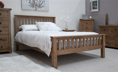 rustic king size bed rustic solid oak 5 king size bed oak furniture uk