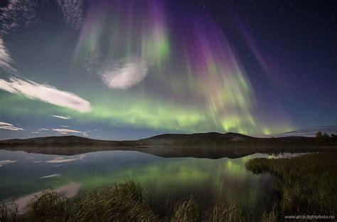 Northern Lights Solar Northern Lights Blaze Up After Big Sun