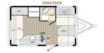 Front Kitchen Rv Floor Plans 2500 series travel trailers bigfoot rv truck campers