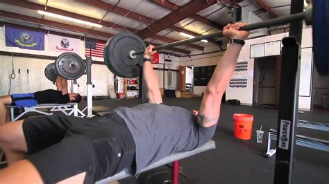 bodyweight bench press crossfit crossfit wod 120521 demo with crossfit austin youtube
