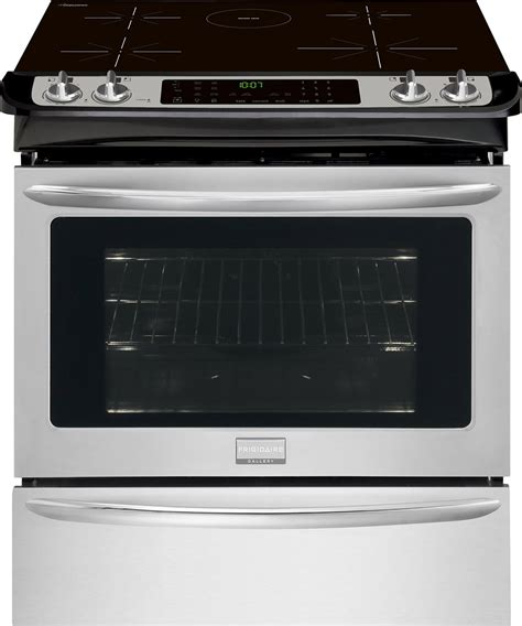 appliances induction ranges frigidaire gallery stainless steel 30 inch slide in induction range cgis3065pf trail appliances