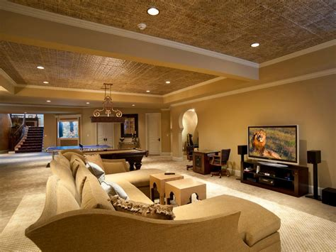 nice ceiling lights exposed basement ceiling ideas