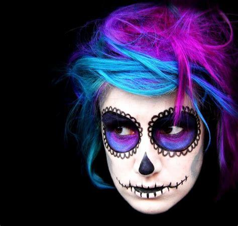 imagenes de uñas pintadas de monster high 15 exemples de maquillages halloween pour se faire ou