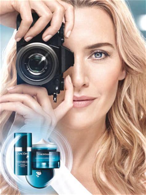 Spokesmodel Alert Kate Winslet For Lancome by Kate Winslet Endorsements