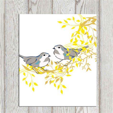 printable wall art birds birds wall art printable bird decor print from dorindaart