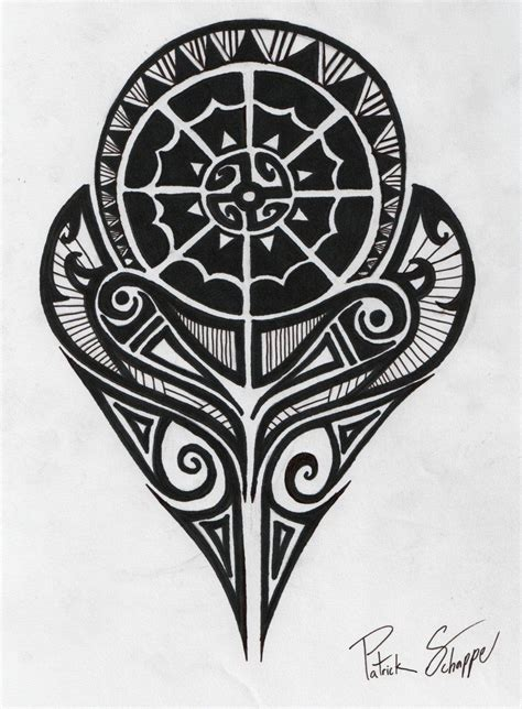 tribal tattoo for strength and love polynesian symbols meanings polynesian strength