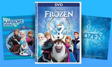 film frozen karaoke frozen dvd blu ray or cd groupon goods
