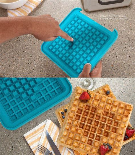 design waffle maker awesome products pixel waffle maker lets you customize a