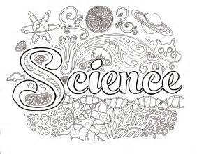 science coloring page dawn s brain