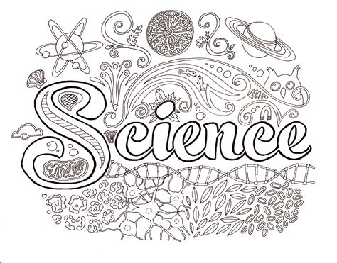 Free Science Coloring Pages science coloring page s brain