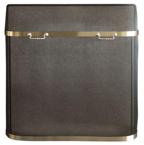 brass fireplace spark guard screens at toolsforfireplaces