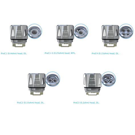 Joyetech Proc1 S 0 25ohm Mtl Atomizer Replacement Spare Parts 5pcs pack proc coils for joyetech procore aries atomizer
