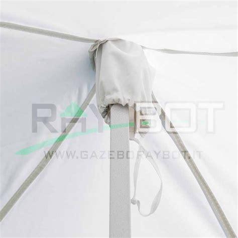 gazebo pieghevole 2x2 gazebo pieghevole 2x2 bianco bot 4 teli laterali pvc