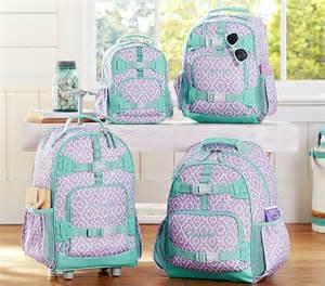 pottery barn backpacks for mackenzie lavender moroccan geo backpacks pottery barn