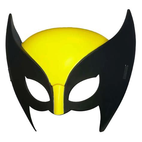 printable wolverine mask marvel universe wolverine hero mask