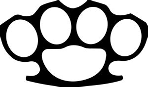 Brass Knuckles Template by Brass Knuckles Logo Vector Eps Free