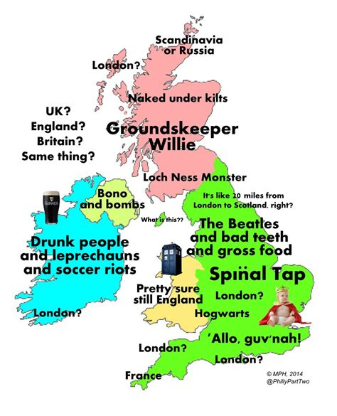 buzzfeed uk map the definitive stereotype map of according to