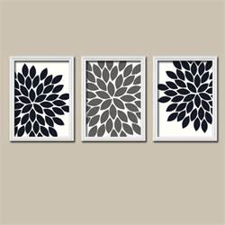 Gray Wall Decor black white grey wall bedroom pictures canvas or prints