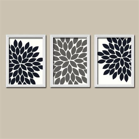 gray wall decor black white grey wall art bedroom pictures canvas or prints