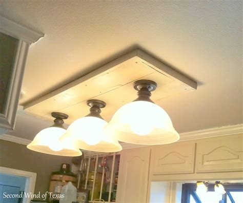 8 Best Images About Kitchen Lights On Pinterest Kitchen How To Change A Fluorescent Light Fixture To Incandescent