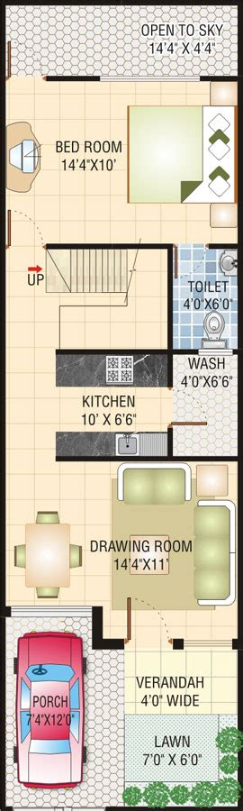 20x50 house design gharexpert 20x50 house design 100 home design for 20x50 plot size colors one side