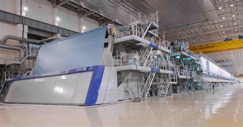 Paper Machine - world s largest paper mill is operating in china mro