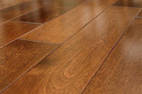 To Floor Beauchene Provincial Grade Quot Cherry Spice Quot Yellow Birch