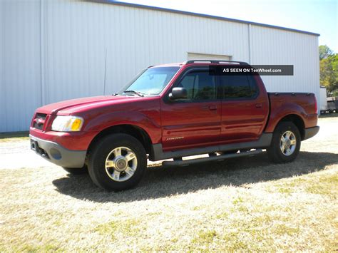 Ford Explorer Sport Trac 2001 by 2001 Ford Explorer Sport Trac 4x4 4wd