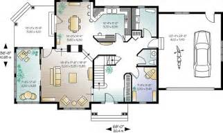 28 open concept floor plan for one story house
