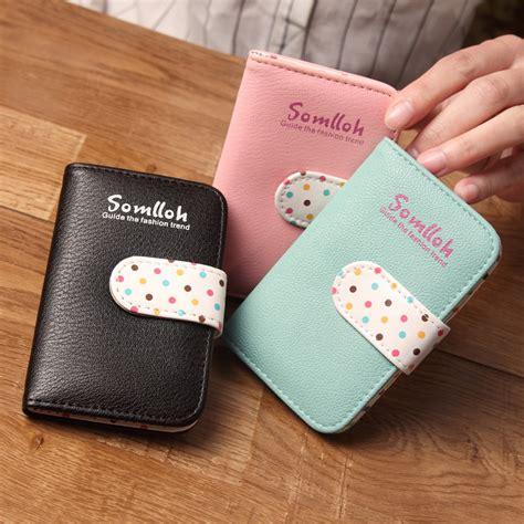 Dompet Kartu Bahan Kulit Mini Wallet dompet kartu 20 slot bahan kulit black jakartanotebook